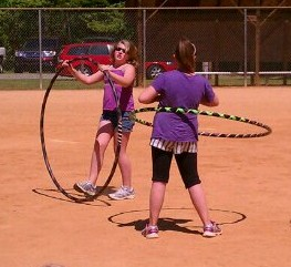 hooping at Clydefest 2012