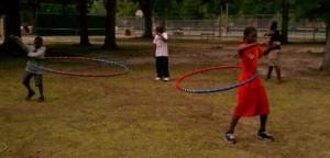 Boys hooping in Goldsboro