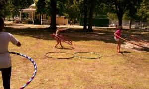 Big hoop, multi-hoops