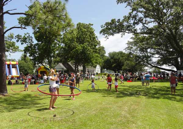Hooping and Fun at Croakerfest 2015