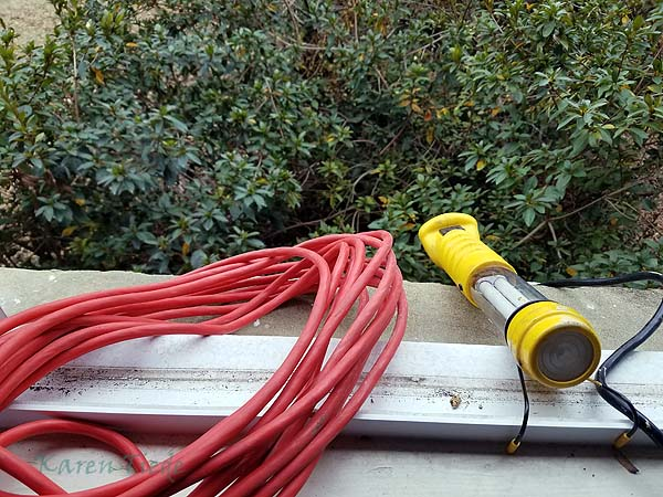 Run electricity and a worklight to the crawlspace.