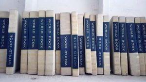 World Book Encyclopedia as Raw Material