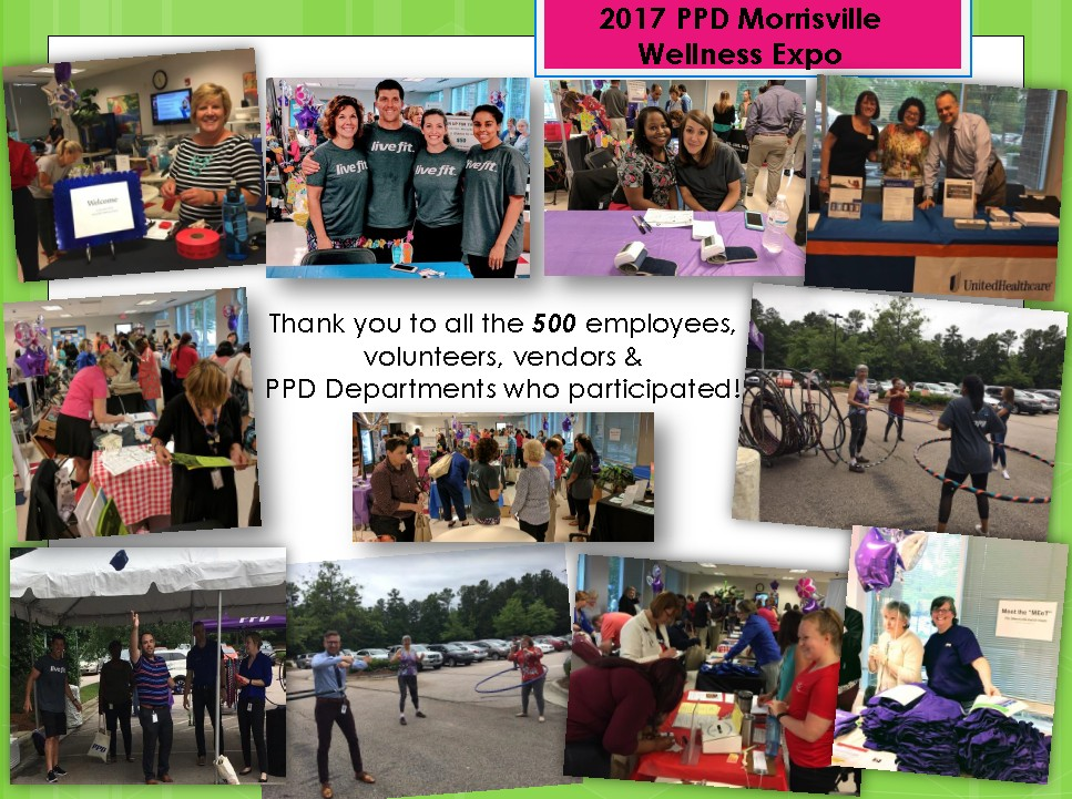 Pictures from the PPD Morrisville Wellness Expo